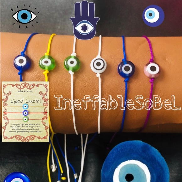 Jewelry - Evil Eye Symbol of Greek, Turkey